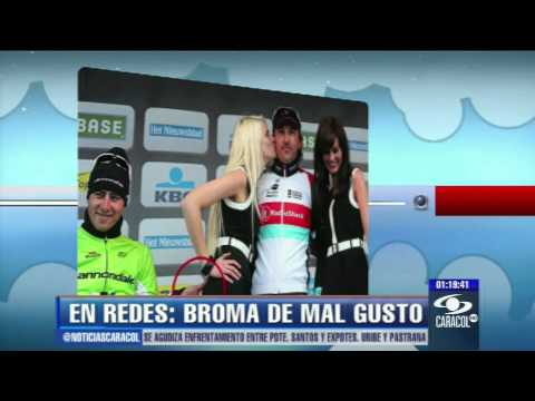 Broma de mal gusto tiene en problemas a ciclista Peter Sagan