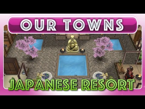 Sims FreePlay - Japanese Inspired Resort (Original House Design)