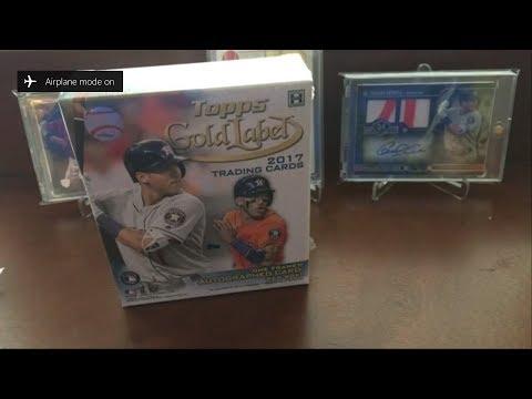 2017 Topps Gold Label Baseball Box #2
