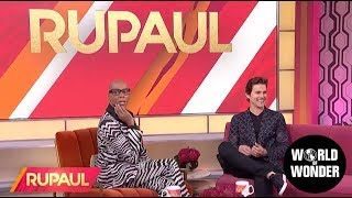 'RuPaul' with Matt Bomer!