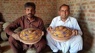 Mitti Ki Karahi | Making a Pottery Cooking Pot on the wheel | Clay Pots | Village Food Secrets
