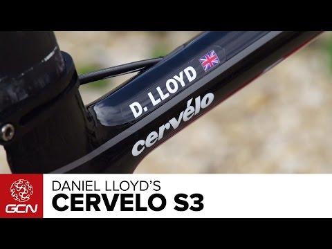 Presenters Bikes - Daniel Lloyd's Cervelo S3