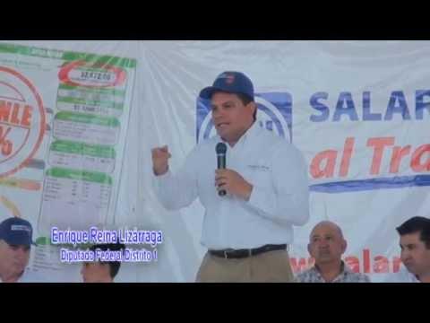 (San Luis Rio Colorado) Sin pretexto, Sonora merece pagar menos por energía eléctrica: Enrique Reina