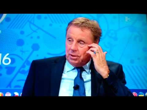 "Harry Redknapp ""England will beat Iceland 2 or 3 nil"""