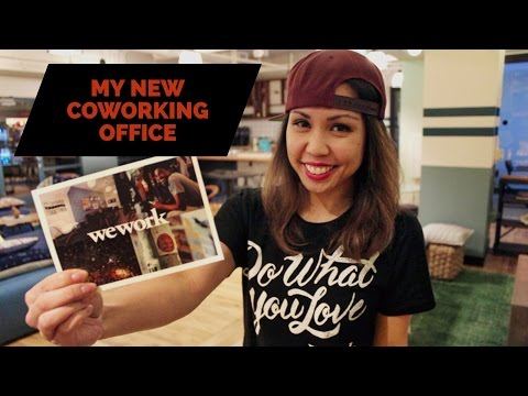 WEWORK OFFICE TOUR - MY NEW COWORKING OFFICE SPACE IN WEWORK LONG BEACH   Vlog 086