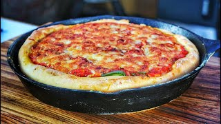 Super tasty Deep Dish Pizza Chicago Style