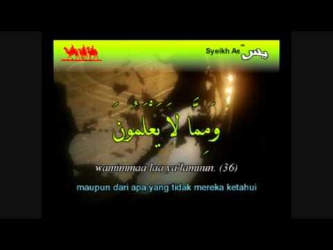 Surah Yasin (terjemahan Bahasa Indonesia) video