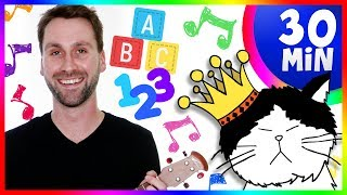 🍎 Best Educational Videos for Children | Teach Toddlers ABCs, Colors & Numbers | Kid-Friendly Songs