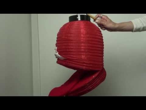 提灯お化けの折り方 :: VideoLike