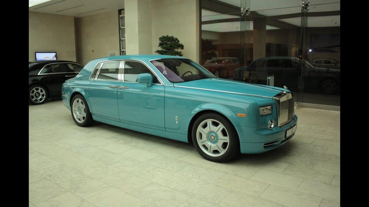 Phantom Blue Car Paint