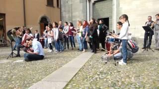Flash mob @ piazza san fedele 12/04/2014