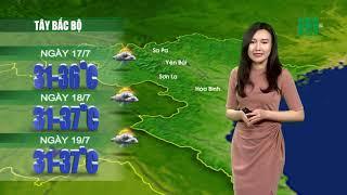 Thời tiết 12h 16/07/2019: Miền Bắc vẫn có khả năng xảy ra mưa dông vào chiều tối  VTC14