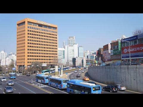 Walking in Seoul (South-Korea) part two