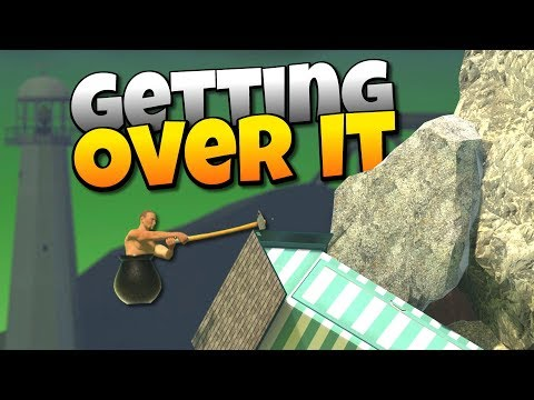 100% IMPOSSIBLE GAME - Getting Over It With Bennett Foddy Gameplay