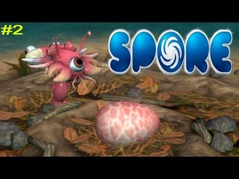Spore Симулятор создания Жизни #2 Первые друзья и создание Стаи