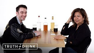 My Boyfriend & Mom Meet for the First Time | Truth or Drink | Cut