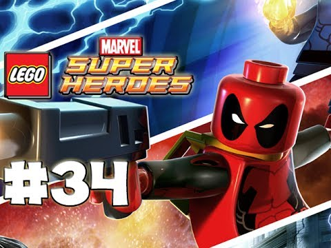 LEGO Marvel Superheroes - LEGO BRICK ADVENTURES - Part 34 - Hulkete! (HD Gameplay Walkthrough)