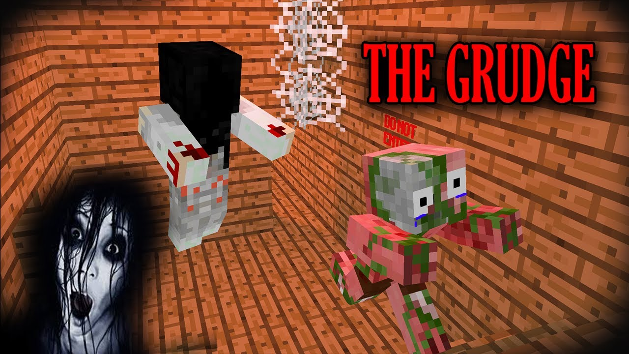 THE GRUDGE   MONSTER SCHOOL   MINECRAFT ANIMATIONS