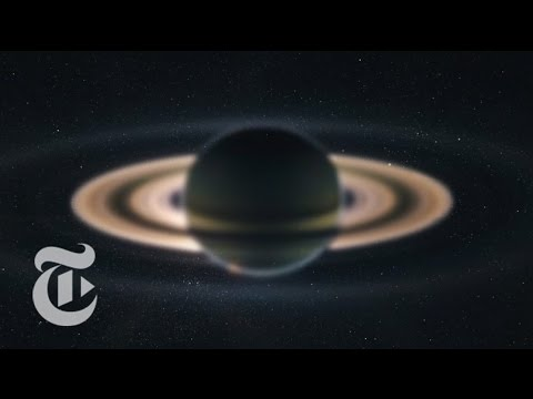 Dark Oceans: Surveying Saturn's Moons | Out There | The New York Times