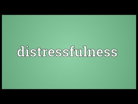 Header of distressfulness