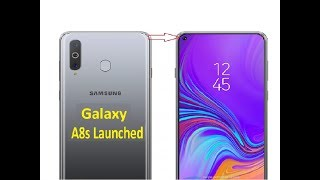 Samsung Galaxy A8s | World first In display camera phone