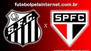 Santos 3 São Paulo 1 REDE FPI JDsports