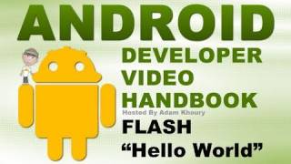 How to Create Android Apps Tutorials Flash CS5.5 and Eclipse