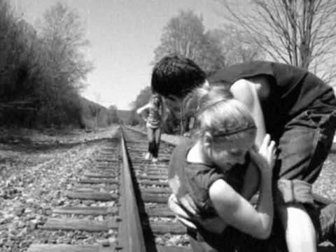 Foot Stuck in Railroad Tracks Stuck on Railroad Tracks