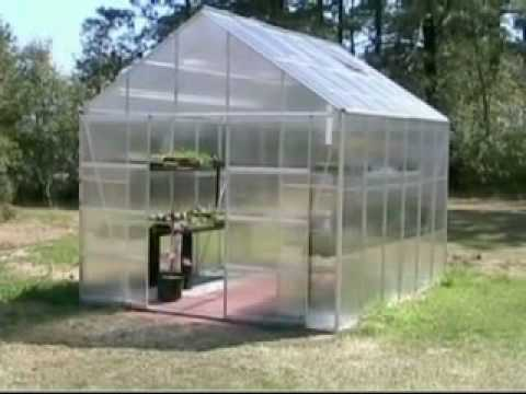 Harbor Freight 10x12 Greenhouse Youtube