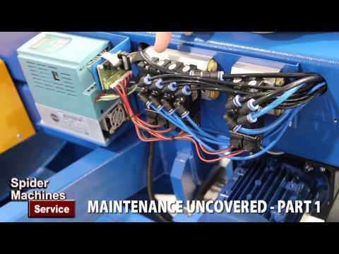 Maintenance Uncovered Part 1 - Robert Barnes of Spider Machines