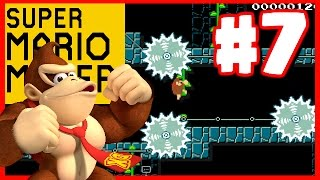 CLASSIC DONKEY KONG LEVEL - Super Mario Maker - Super Mario Maker Gameplay Walkthrough Part 5
