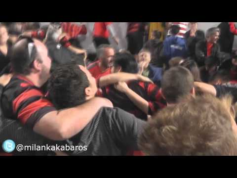 Incredible SCENES- Western Sydney Wanderers fans doing the POZNAN- V Brisbane Roar