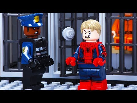 Lego Spiderman Prison Break Fail