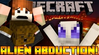Minecraft ALIEN ABDUCTION (UFO)
