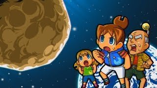 Using Child Labour to stop a meteor from destroying civilization in Job Island