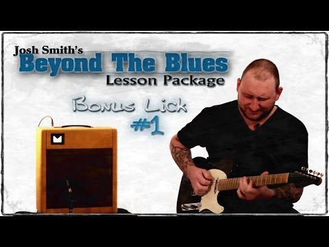 Josh Smith - Blues Guitar Lesson - Diminished Lick - Bonus Lick #1 - Guitar Breakdown - How To Play