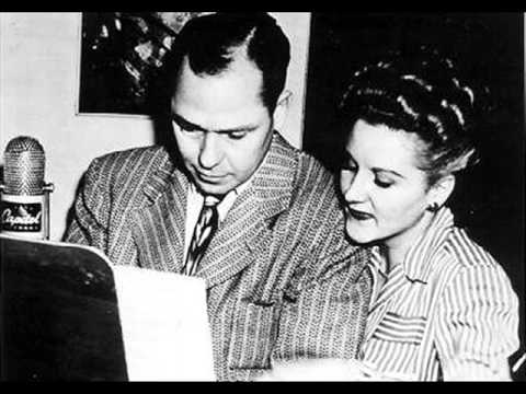 Why Garland >> Margaret Whiting and Johnny Mercer - Baby Its Cold Outside 1949 - YouTube