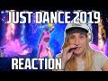 JUST DANCE 2019 TRAILERS REACTION! (Turkish song, and No Lie!) mp3 indir