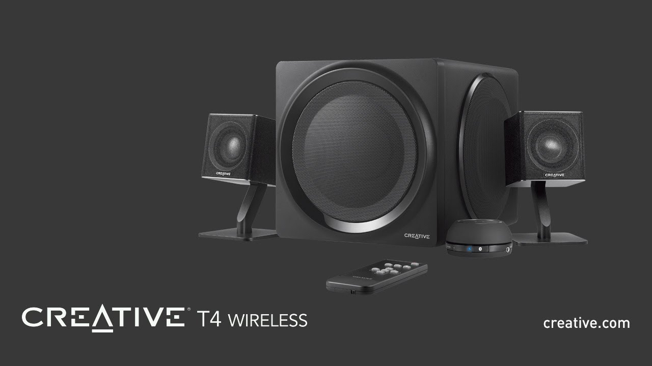 how to connect creative 5.1 speakers to tv