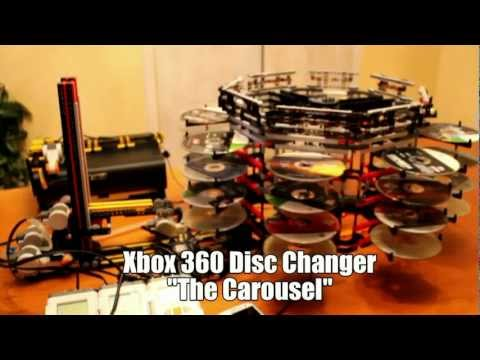 "Lego NXT Xbox 360 Disc Changer ""The Carousel"""