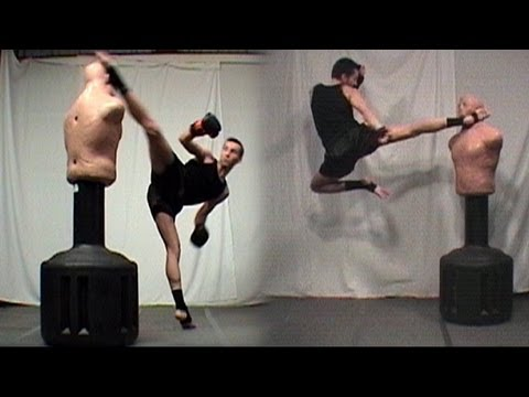 Taekwondo Kickboxing Techniques Sampler (Kwonkicker) Image 1