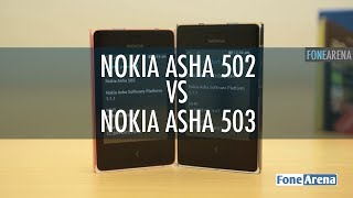 Nokia Asha 502 vs Asha 503 Hands On
