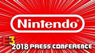 FULL NINTENDO PRESS CONFERENCE [E3 2018] - LIVE REACTION w/runJDrun