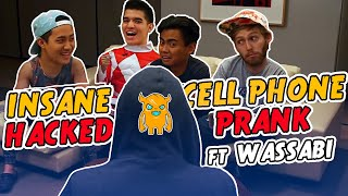 INSANE Hacked Cell Phone Prank - Ownage Pranks