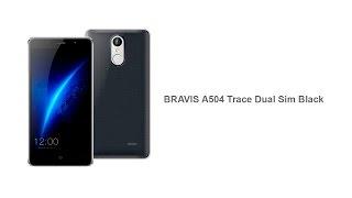 Распаковка BRAVIS A504 Trace Dual Sim Black с Touch ID