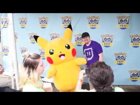 Pokemon GO Fest in Grant Park