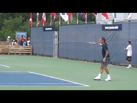 Federer Practicing at Rogers Cup 2010.MOV Music Videos
