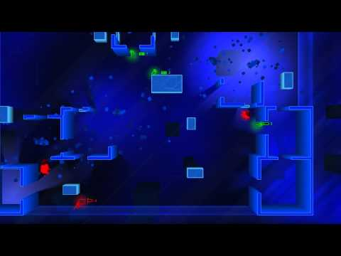 Frozen Synapse: CheesecakeRecipe (green) vs AI (red) – Extermination