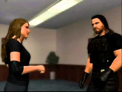 Seth Rollins Kisses Stephanie McMahon in locker room thumbnail