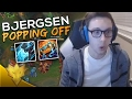 Lagu TSM Bjergsen & Doublelift - BJERGSEN IS POPPING OFF! - League of Legends Funny Moments & Highlights